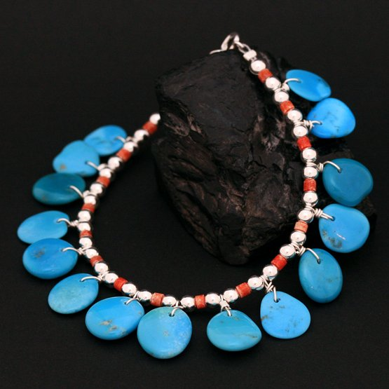 Native American Indian bracelet jewellery link
